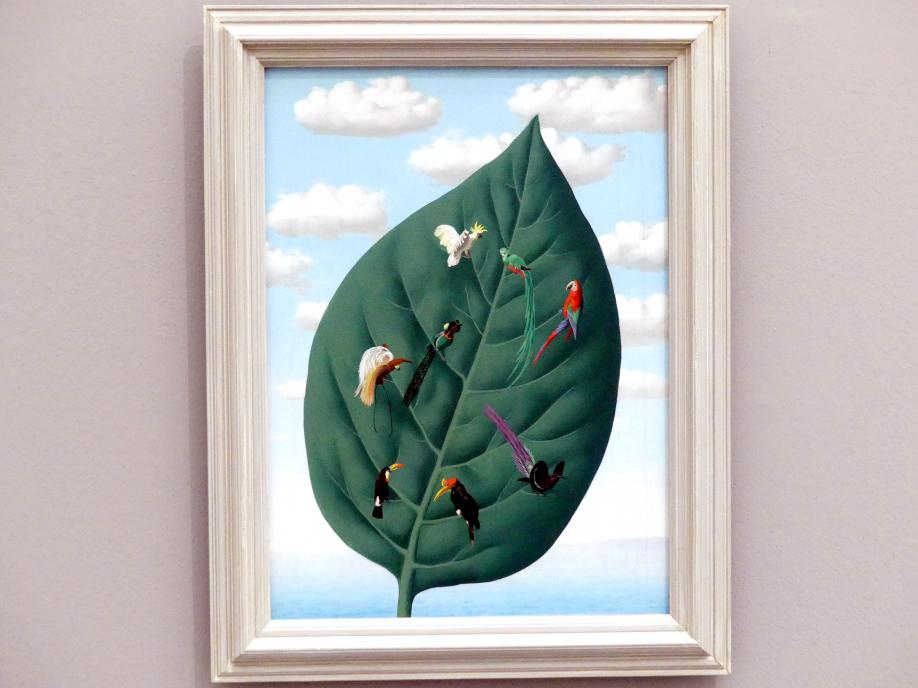 René Magritte: La troisième dimension - Die dritte Dimension, 1942