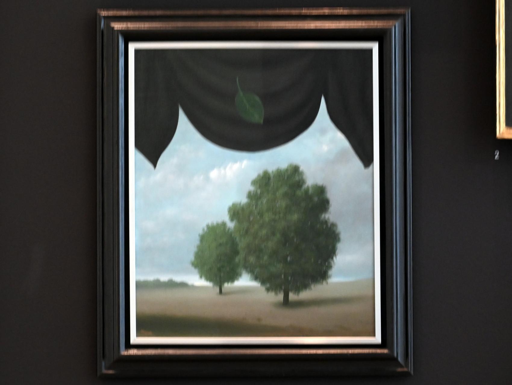 René Magritte: La spectacle de la nature - Das Schauspiel der Natur, 1940
