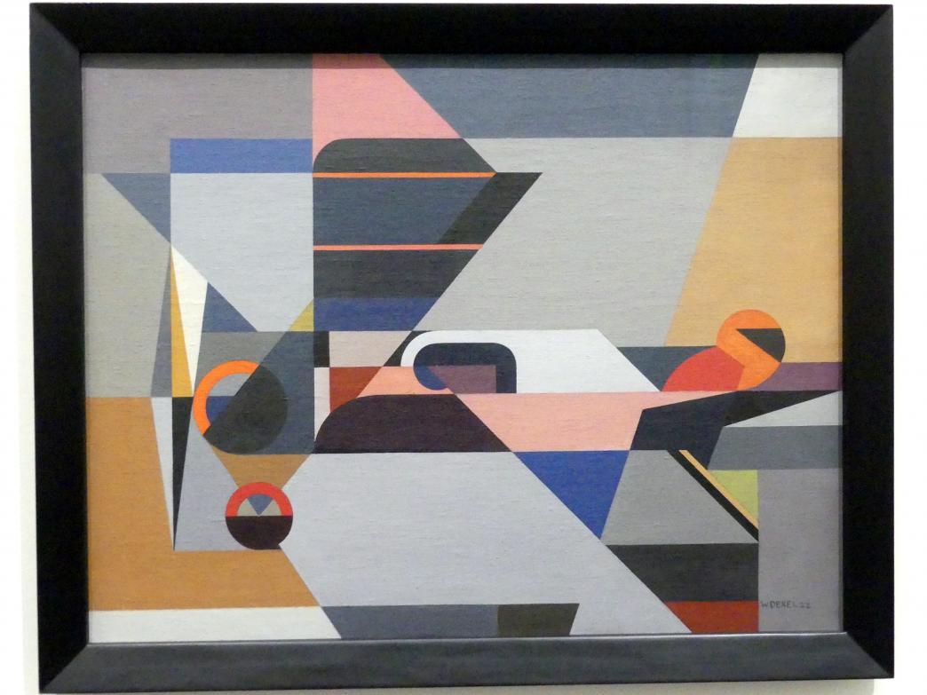 Walter Dexel: Das Flugzeug, 1922