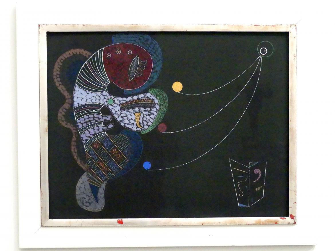 Wassily Kandinsky: Le gros et le mince - Großes und Winziges, 1937