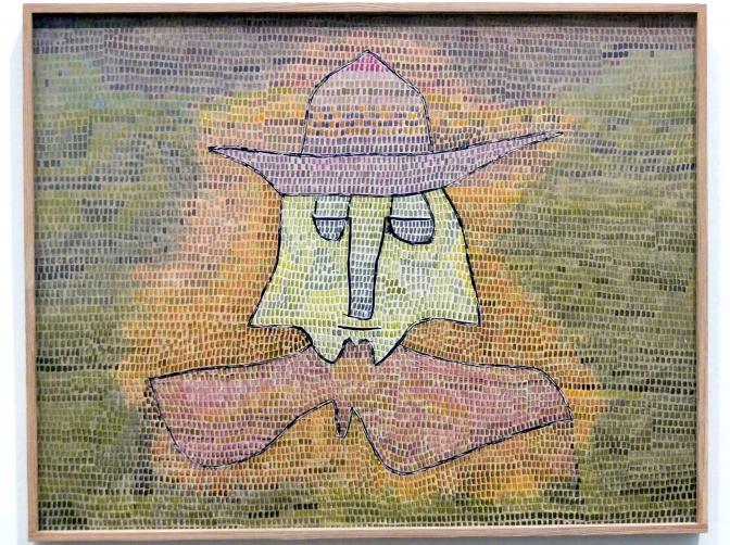 Paul Klee: Pastor Kohl, 1932