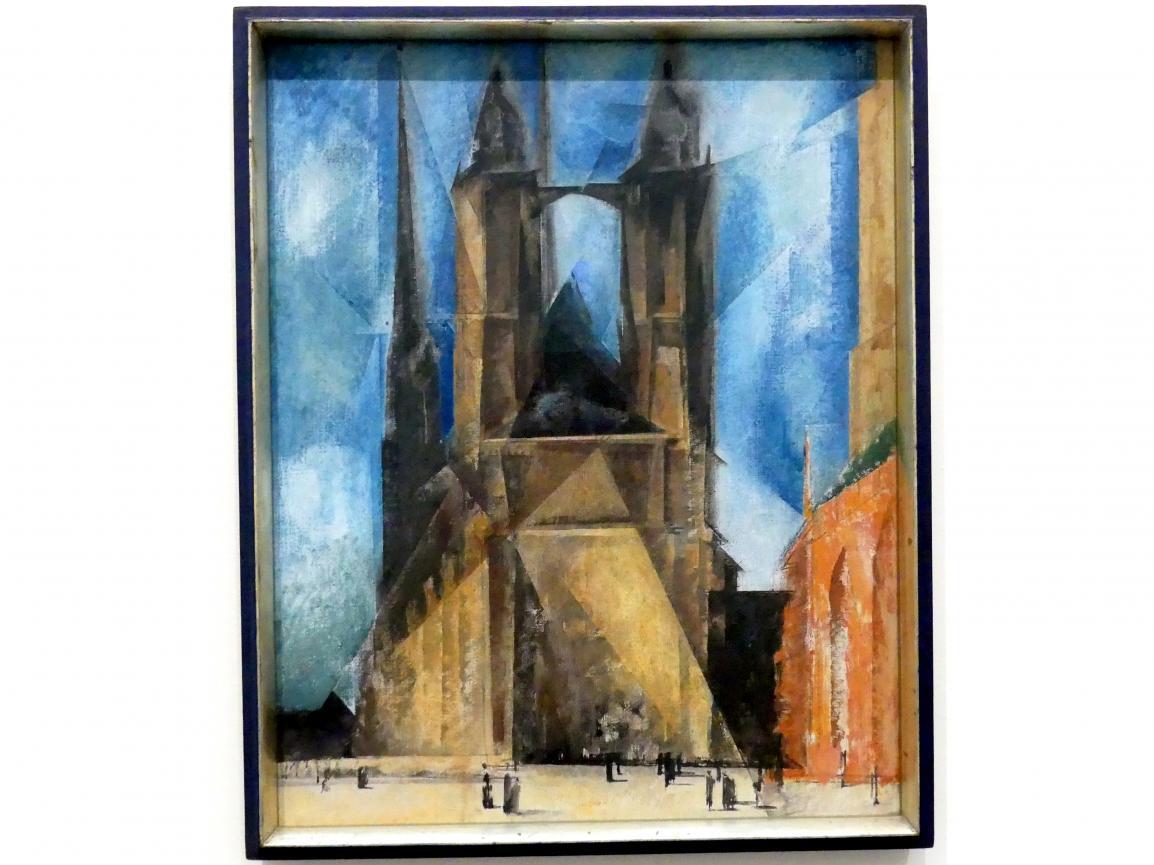 Lyonel Feininger: Marktkirche in Halle, 1930
