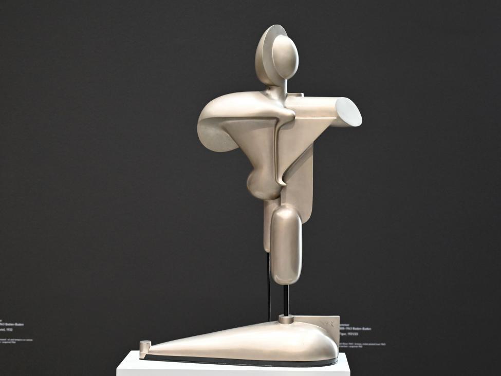Oskar Schlemmer: Abstrakte Figur, 1921 - 1923