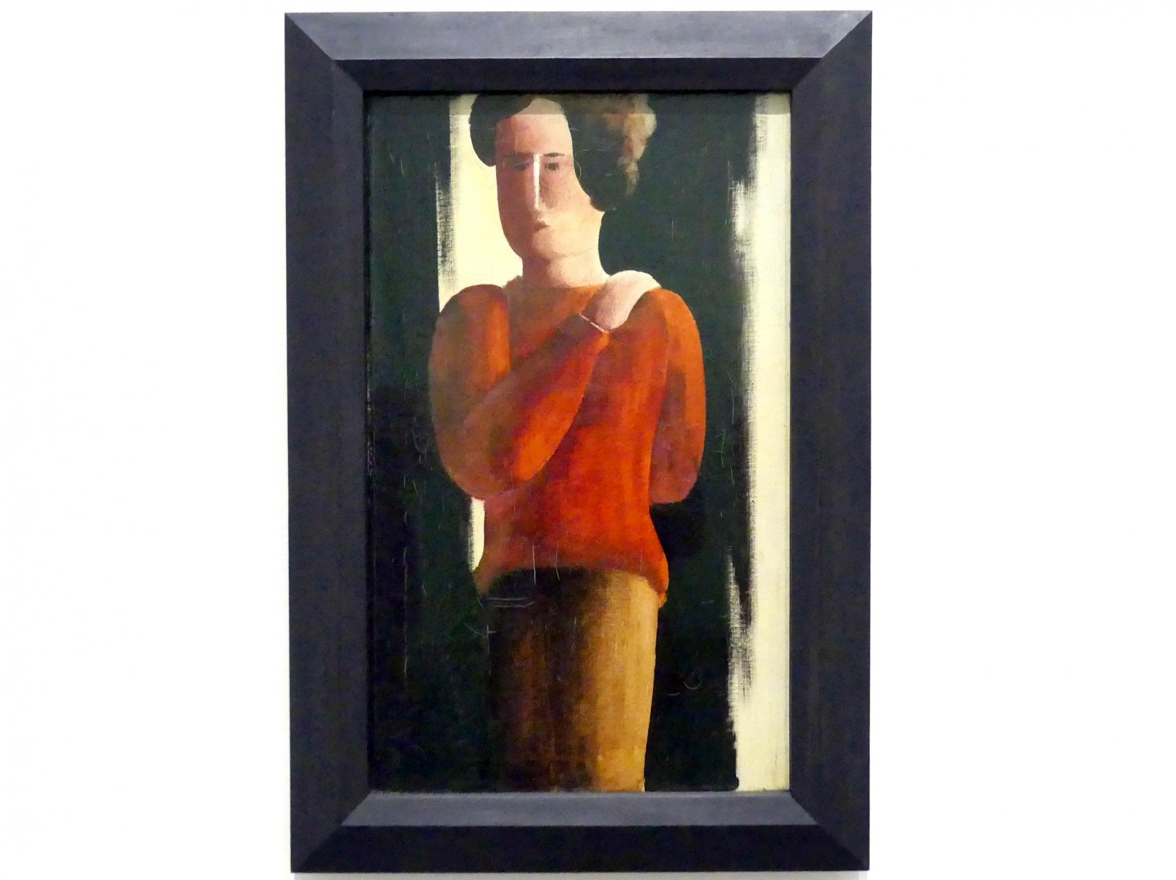 Oskar Schlemmer: Roter Junge, 1928