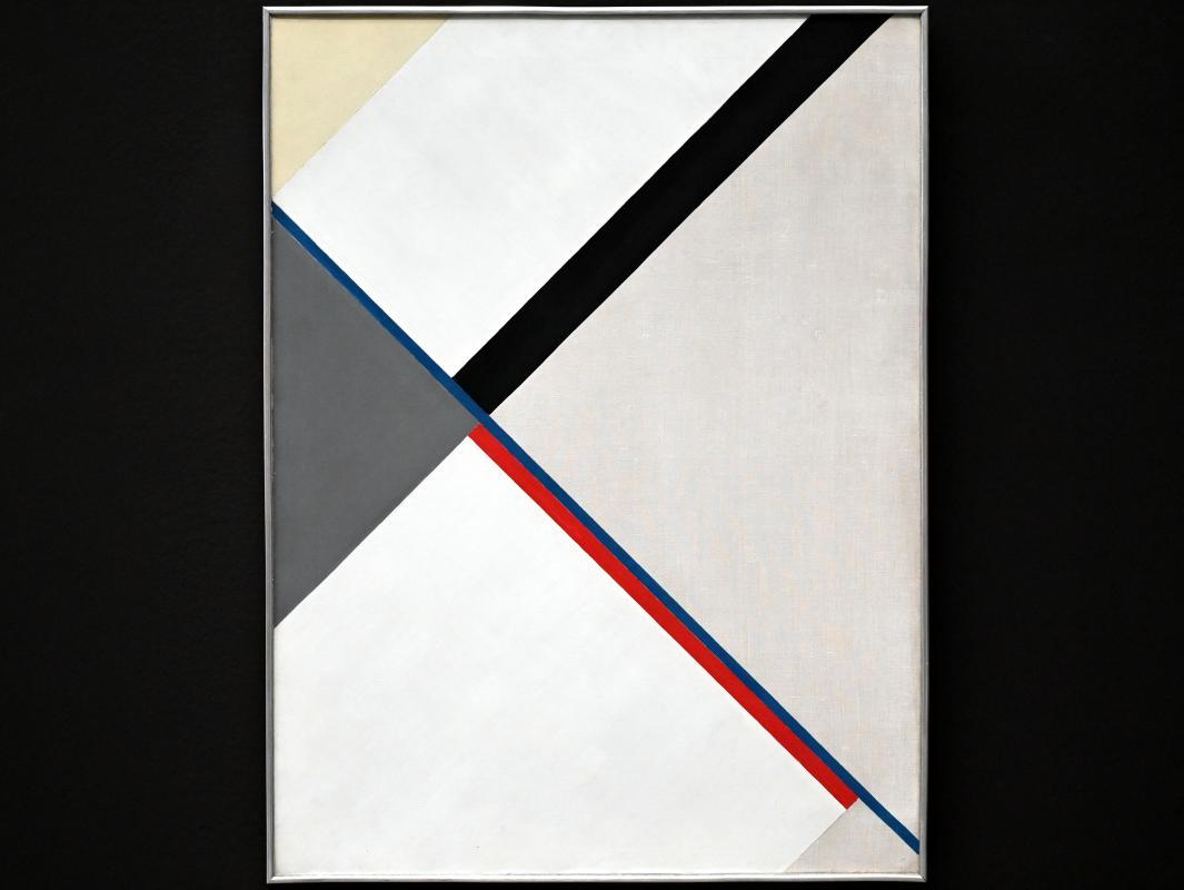 Friedrich Vordemberge-Gildewart: Komposition Nr. 25, 1927