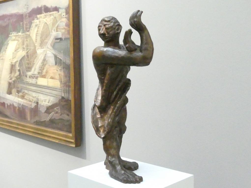Max Beckmann: Mann im Dunkeln, 1934, Bild 2/4