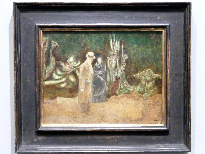 Richard Oelze: Der Schwager (Paar mit Hund), 1935