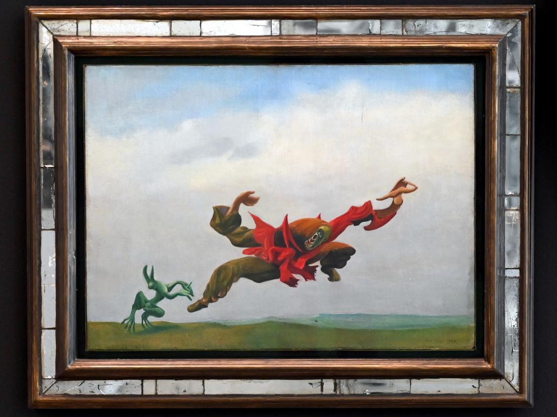 Max Ernst: L'ange du foyer - Der Hausengel, 1937