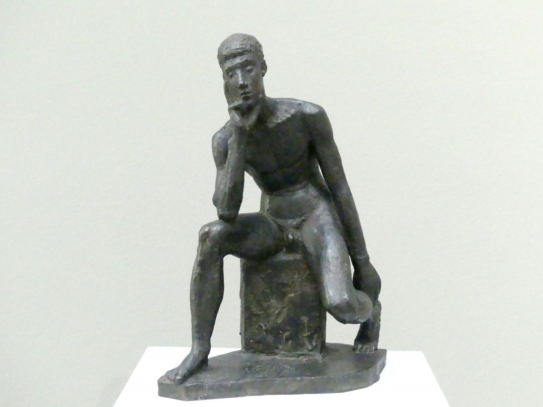 Gerhard Marcks: Sitzender Jüngling, 1937