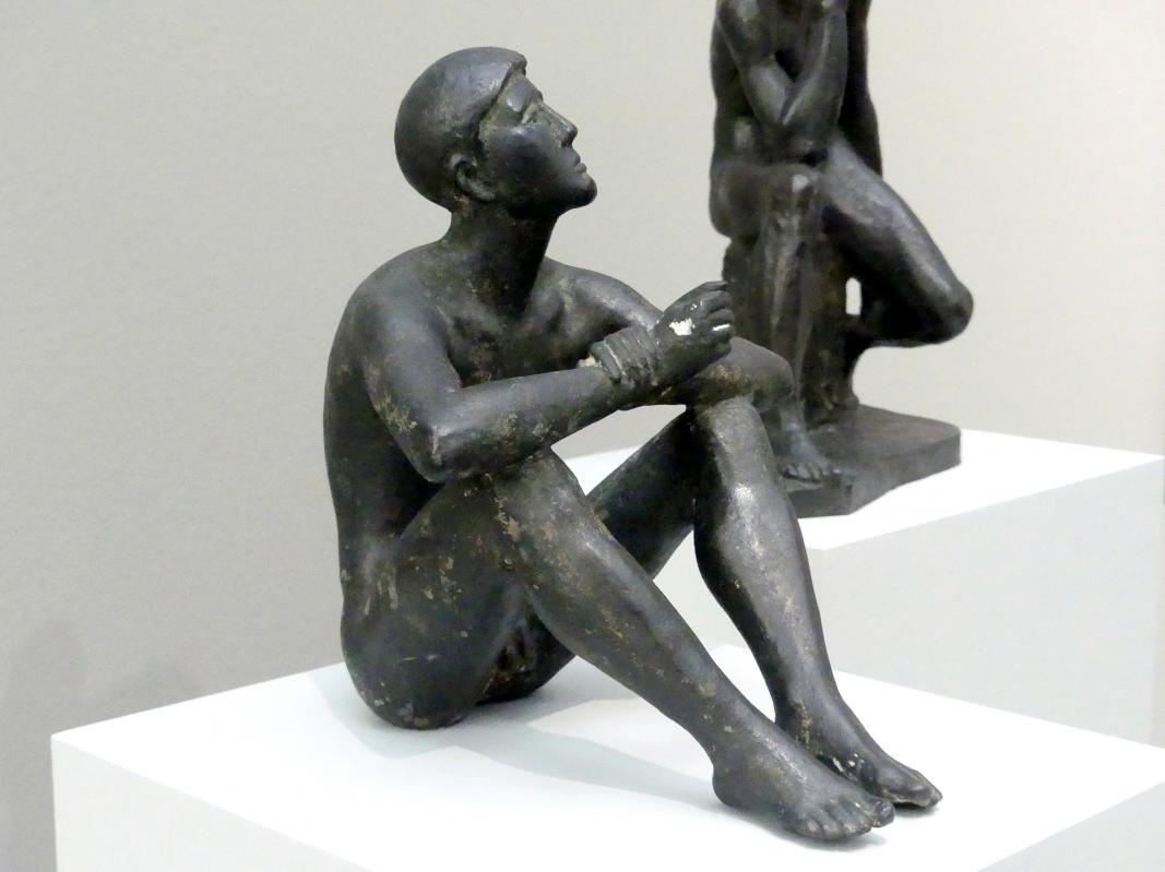 Hermann Blumenthal: Sitzender aufschauend (Sterngucker), 1936, Bild 3/5