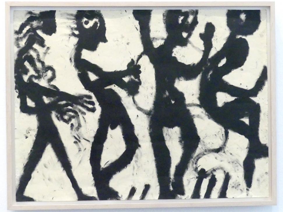 Louis Soutter: Quatre personnages - Vier Personen, 1937 - 1942