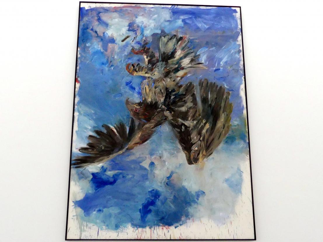 Georg Baselitz: Fingermalerei - Adler, 1972