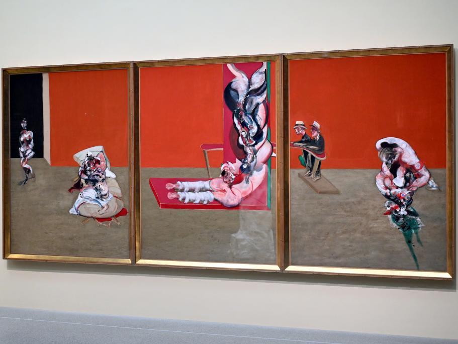 Francis Bacon: Crucifixion - Kreuzigung, 1965