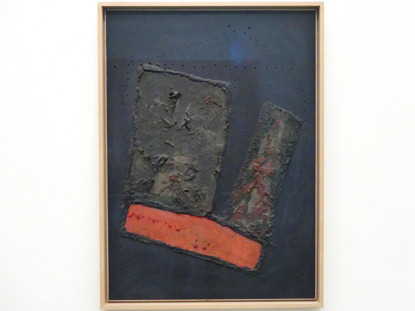 Lucio Fontana: Concetto spaziale, 56 BA 15 - Raumkonzept, 56 BA 15, 1956