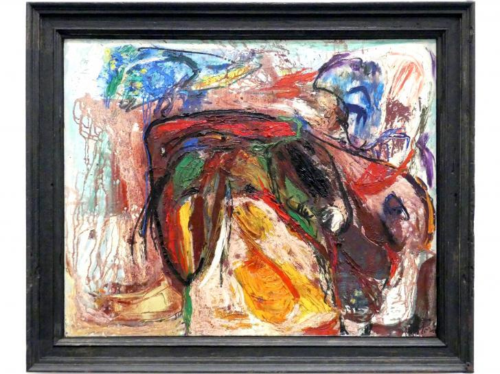 Asger Jorn: Paradentose des Adlers, 1958