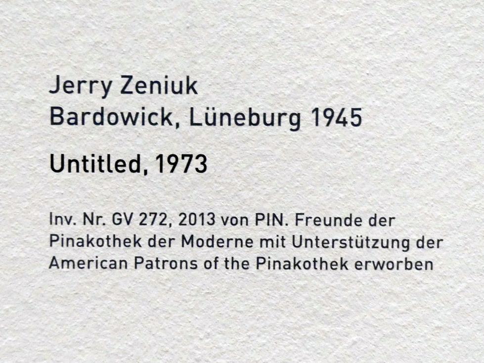Jerry Zeniuk: Untitled, 1973