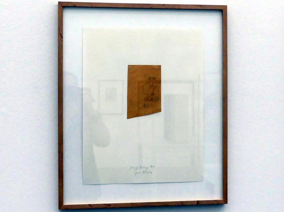 Joseph Beuys: Zwei Hirsche, 1948
