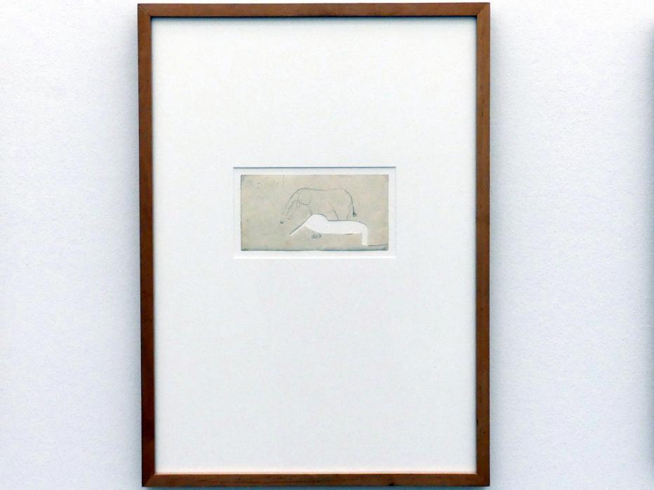 Joseph Beuys: unbetitelt, Um 1950 - 1960