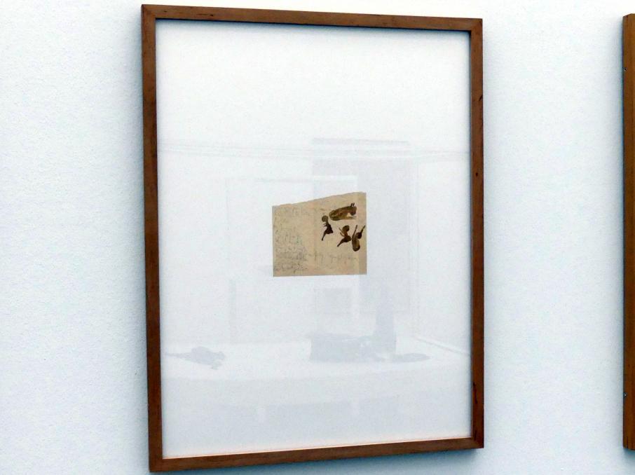 Joseph Beuys: unbetitelt (Grafiktitel: Kalb mit Kinder), Um 1950
