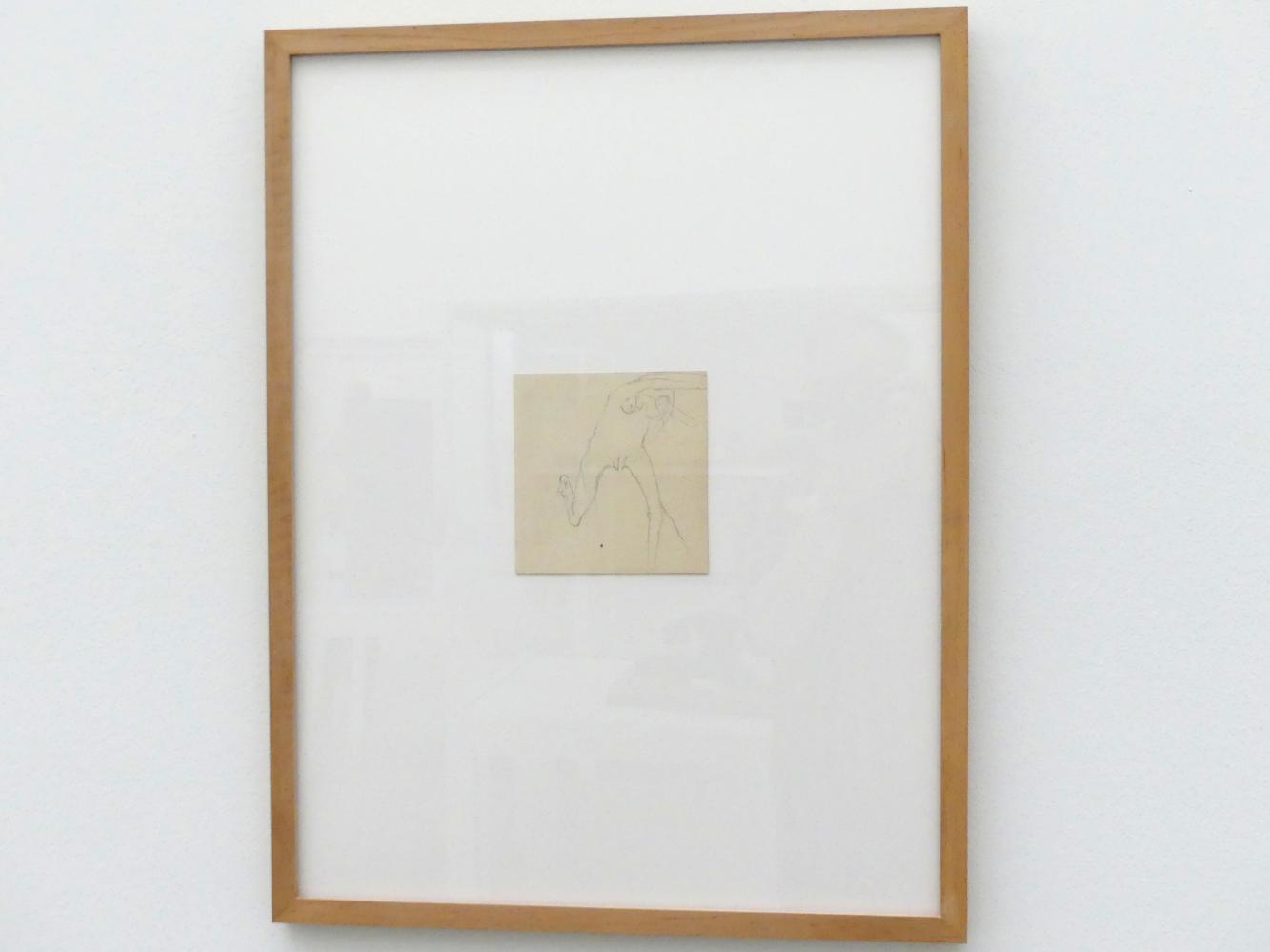 Joseph Beuys: Frau rennt mit ihrem Gehirn weg, 1957