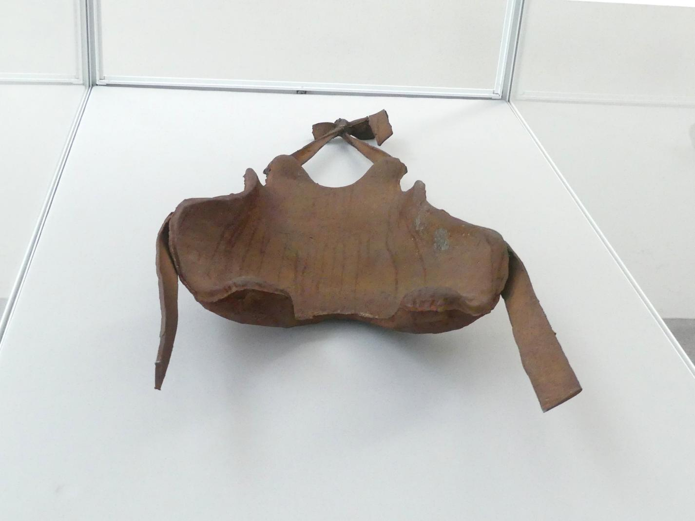Joseph Beuys: Rückenstütze eines feingliedrigen Menschen (Hasentypus) aus dem 20. Jahrhundert p. Chr., 1972