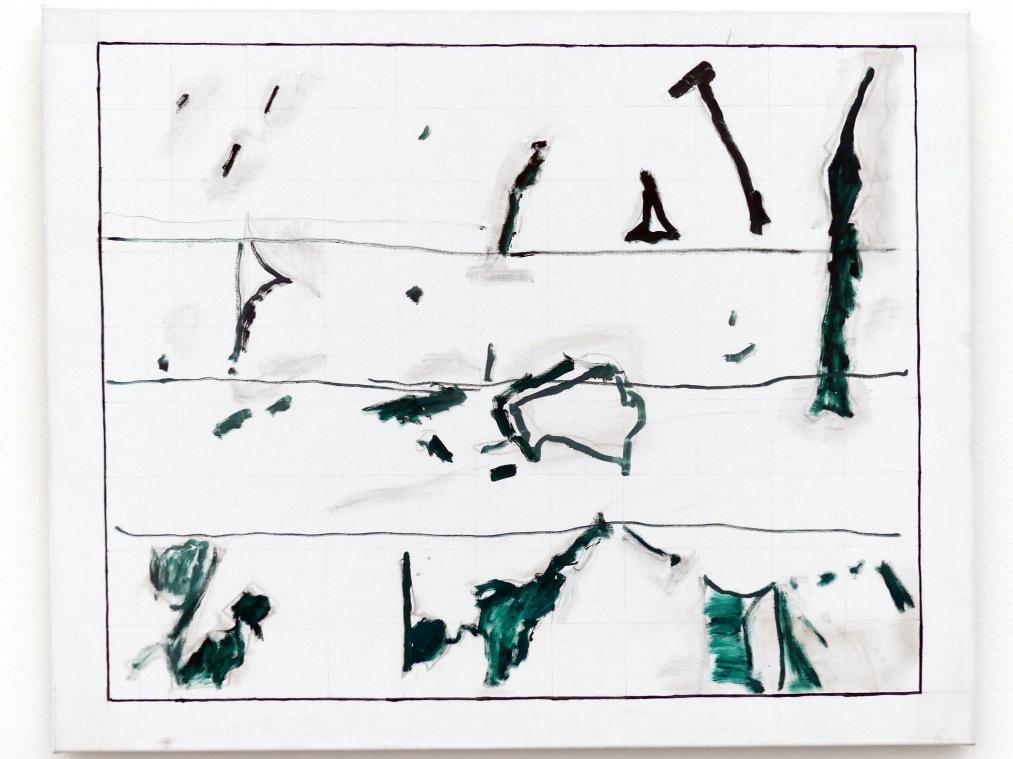 Raoul De Keyser: Sketch (La Mancha), 2006