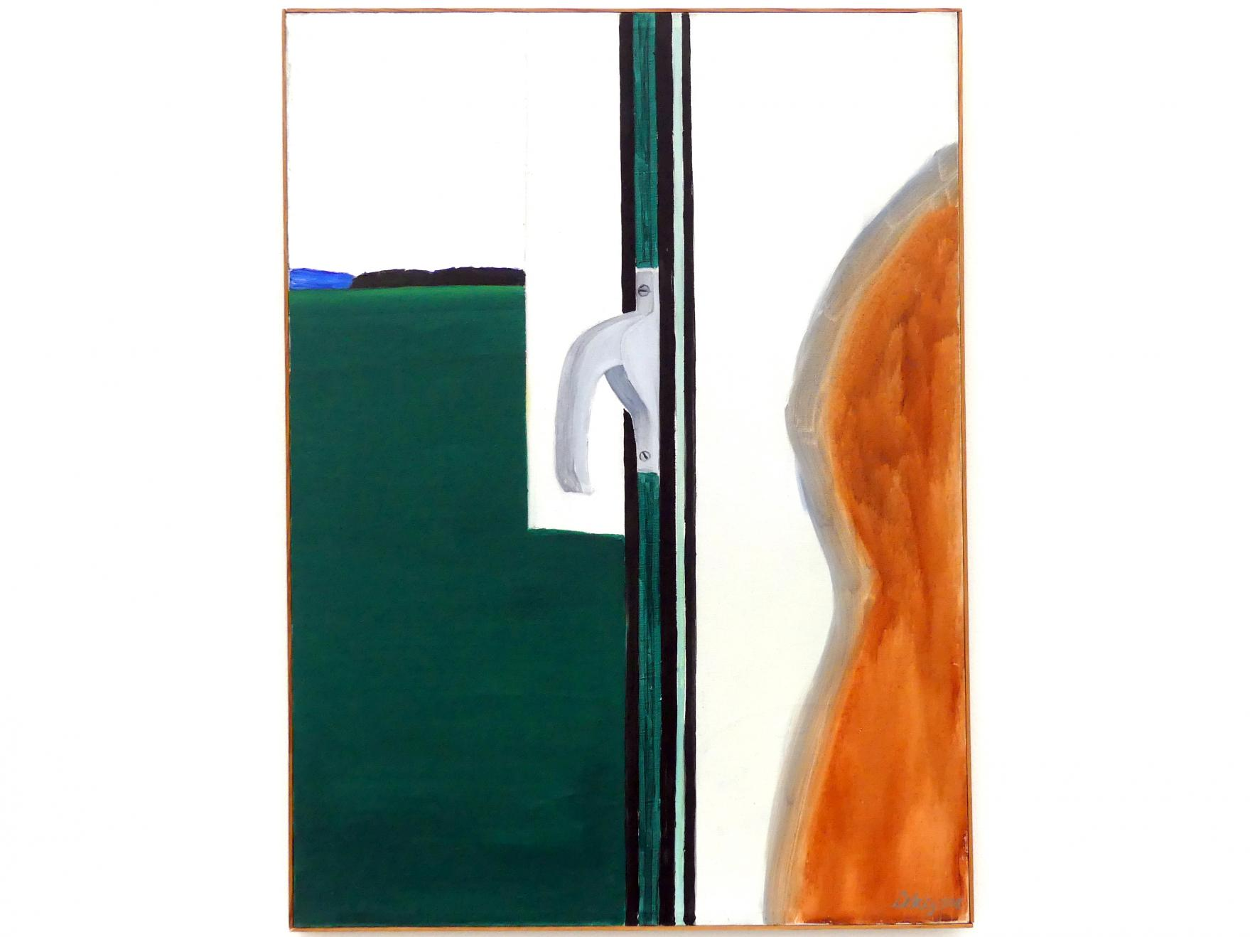 Raoul De Keyser: Raamklink - Fenstergriff, 1964
