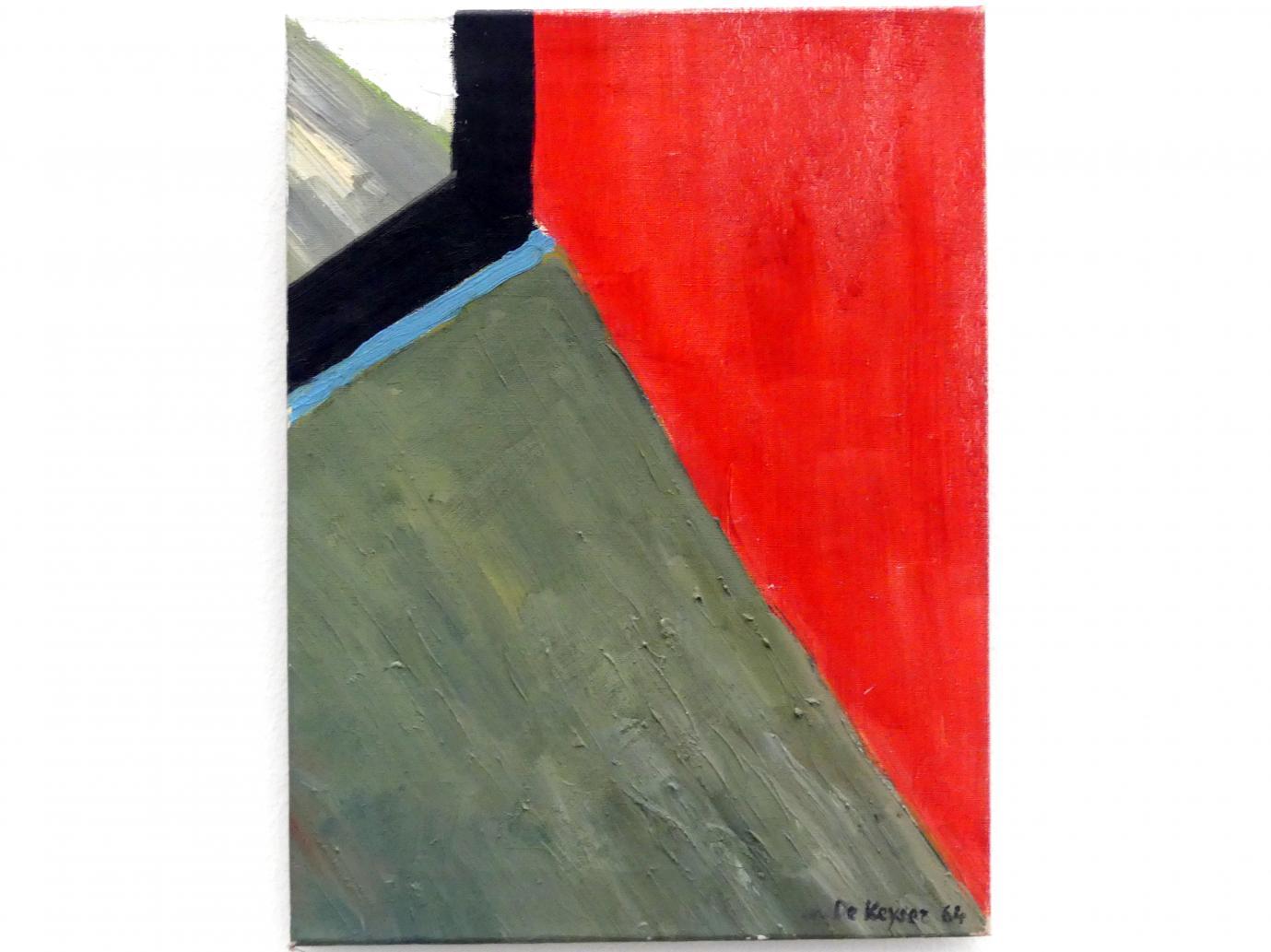 Raoul De Keyser: Hoek - Ecke, 1964