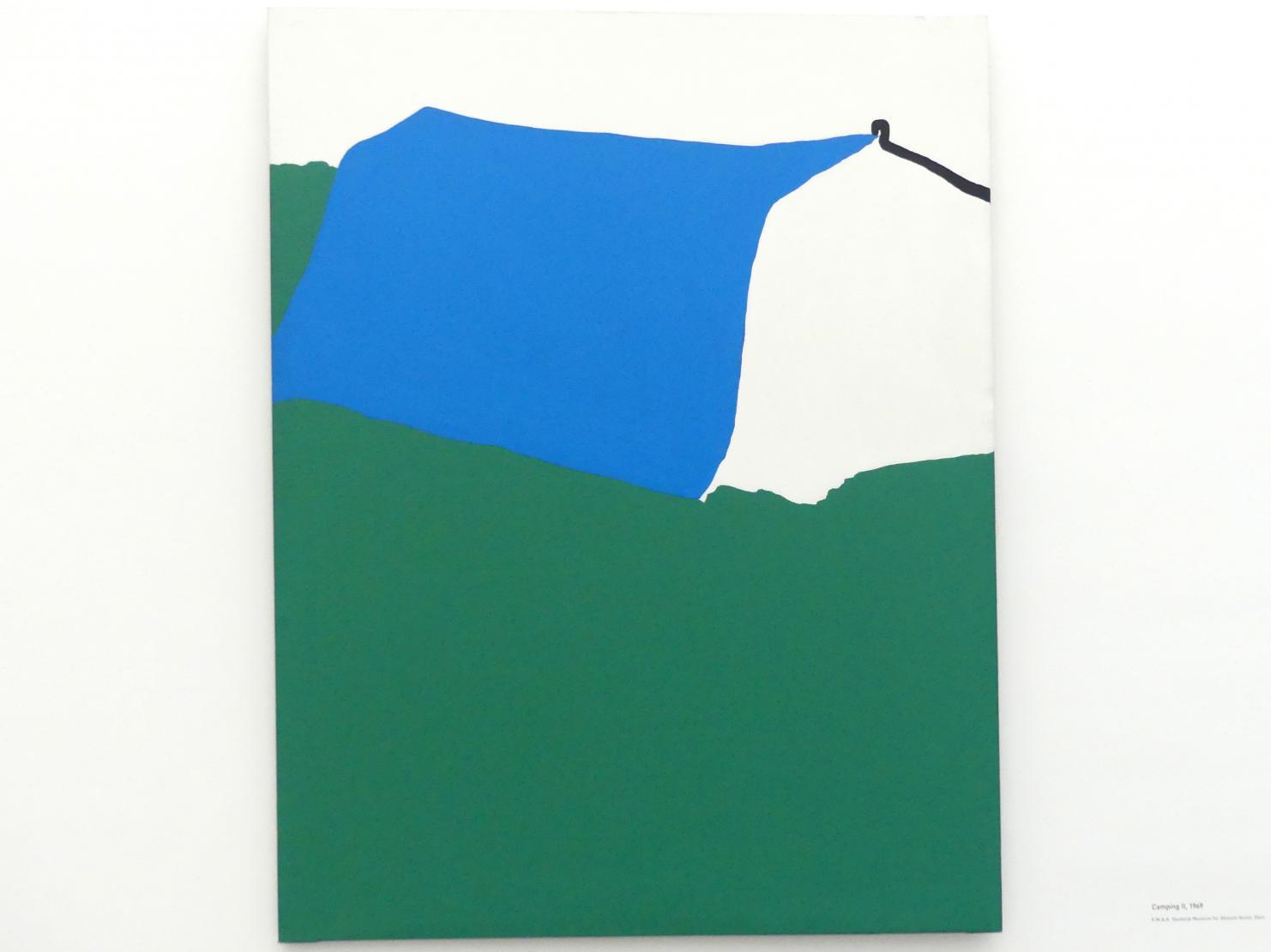 Raoul De Keyser: Camping II, 1969