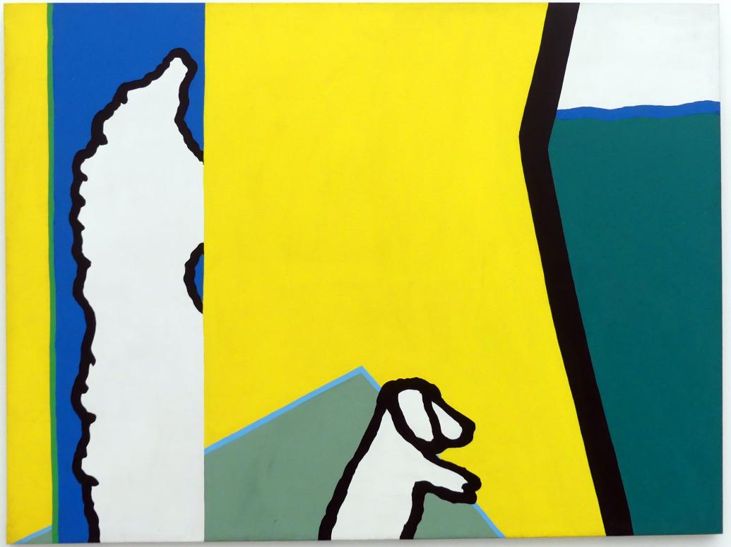 Raoul De Keyser: Heterogene concurrentie - Heterogener Wettbewerb, 1968