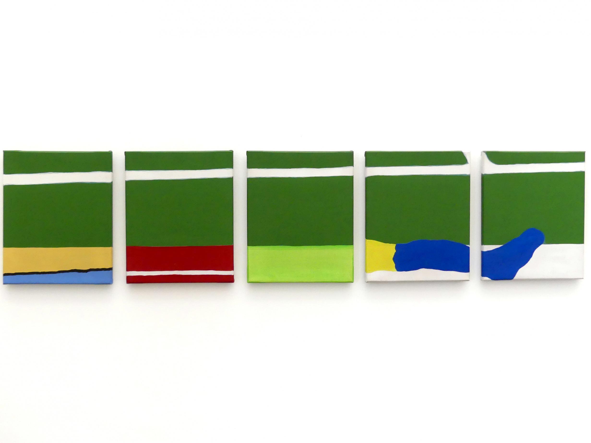 Raoul De Keyser: Onderbroken kalklijn - Unterbrochene Kalklinie, 1970