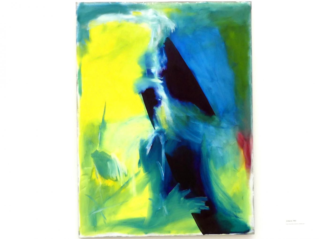 Raoul De Keyser: Zinkend - Untergang, 1983