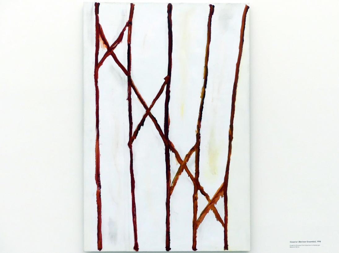 Raoul De Keyser: Closerie I (Berliner Ensemble), 1998