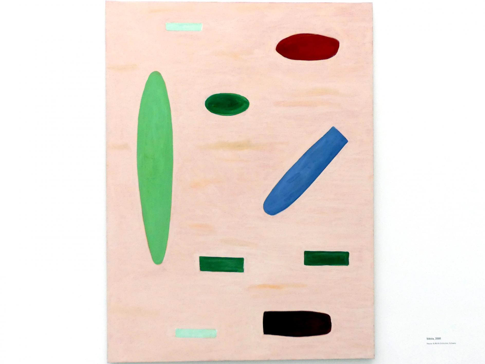 Raoul De Keyser: Siesta, 2000