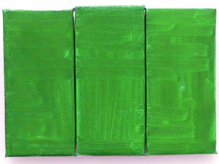 Raoul De Keyser: Green, green, green, 2012