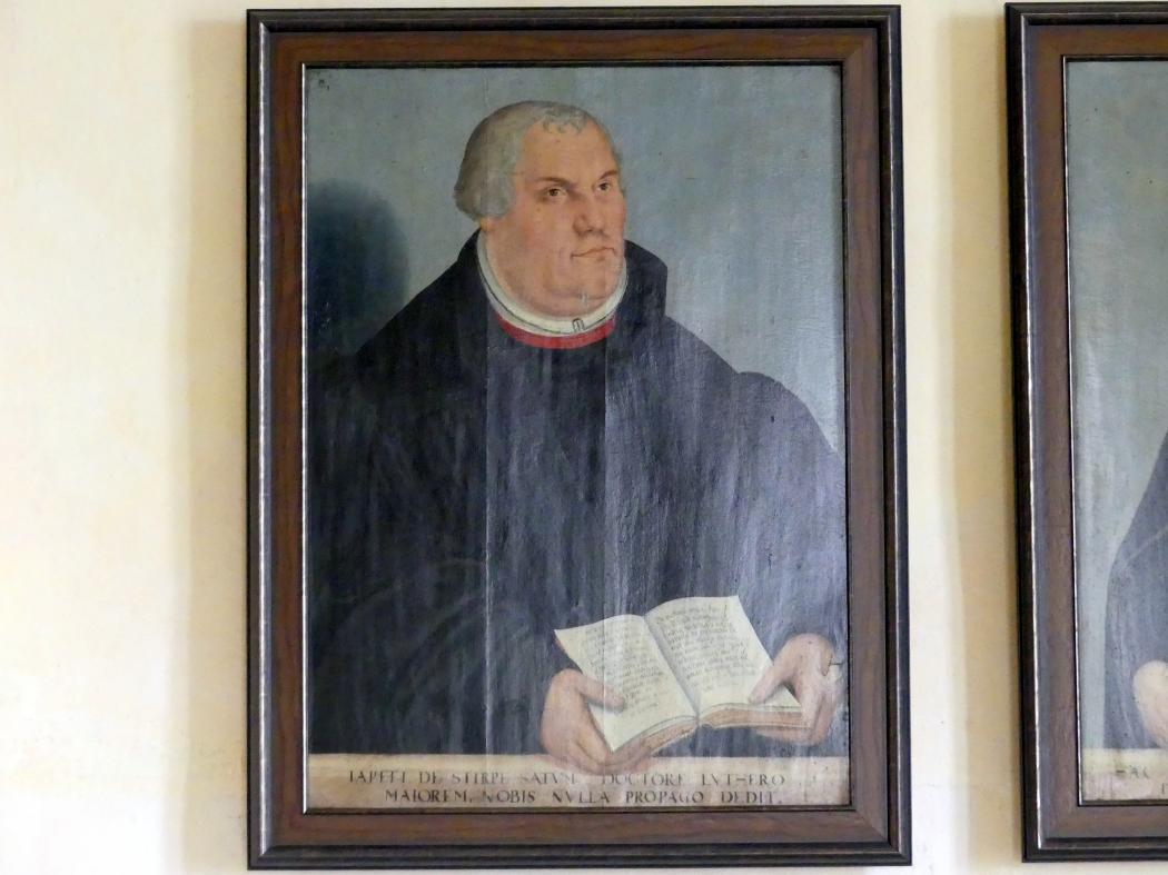 Lucas Cranach der Jüngere: Martin Luther, 1581