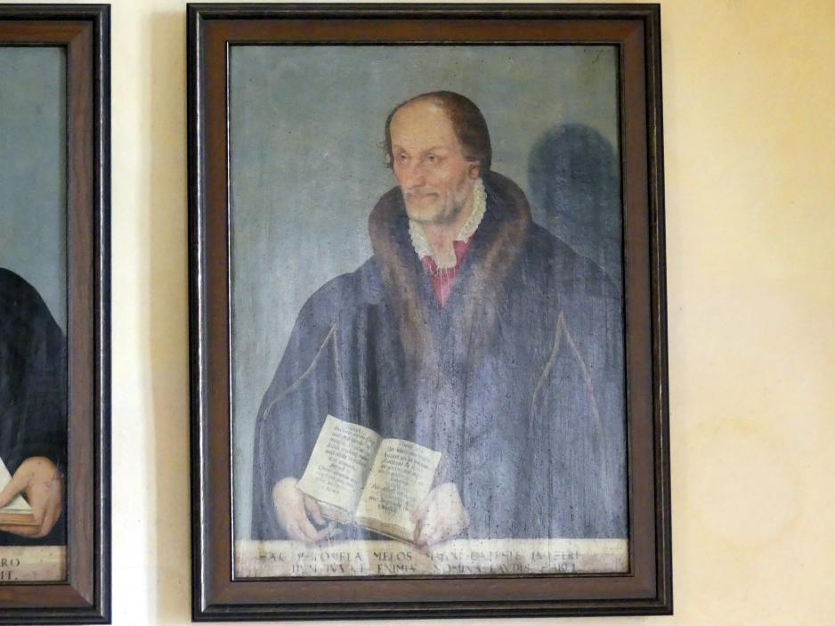 Lucas Cranach der Jüngere: Philipp Melanchthon, 1581