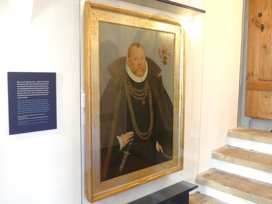 Lucas Cranach der Jüngere: Hans von Lindenau (1541-1598), 1581
