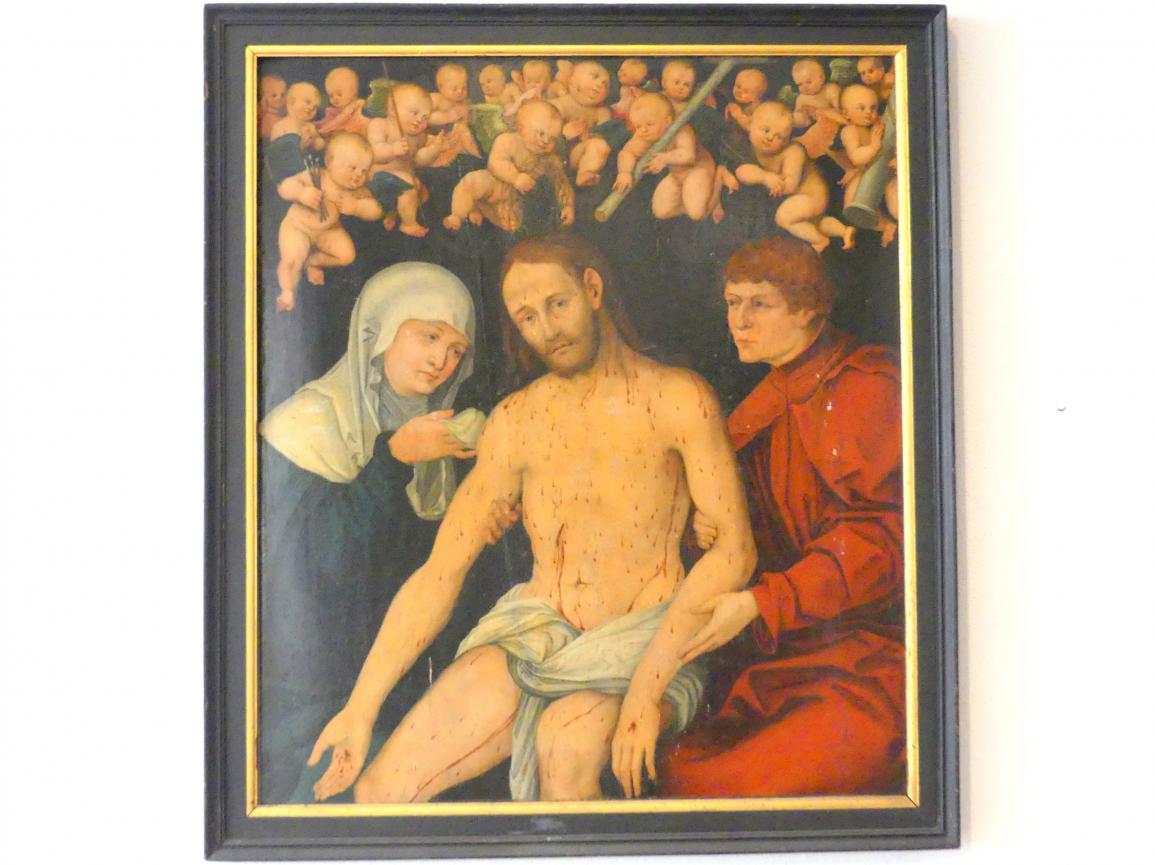 Lucas Cranach der Ältere (Werkstatt): Bild eines Schmerzensmannes, Undatiert