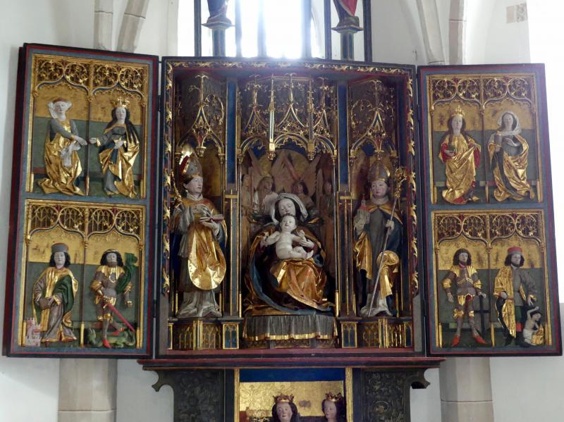 Hans Klocker (Werkstatt): Altarschrein, Um 1500