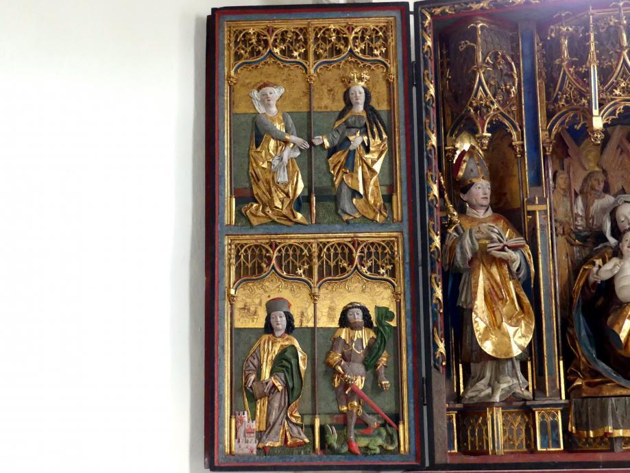 Hans Klocker (Werkstatt): Altarschrein, um 1500, Bild 4/10