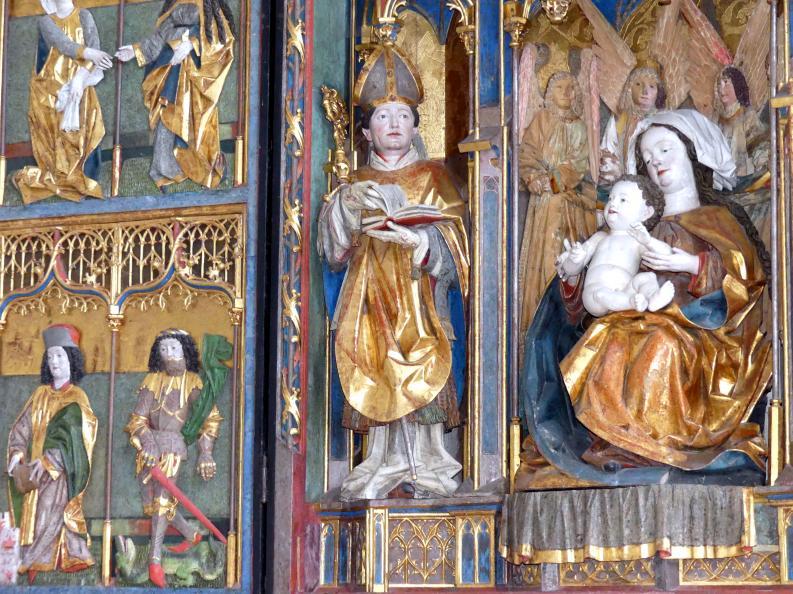 Hans Klocker (Werkstatt): Altarschrein, um 1500, Bild 6/10