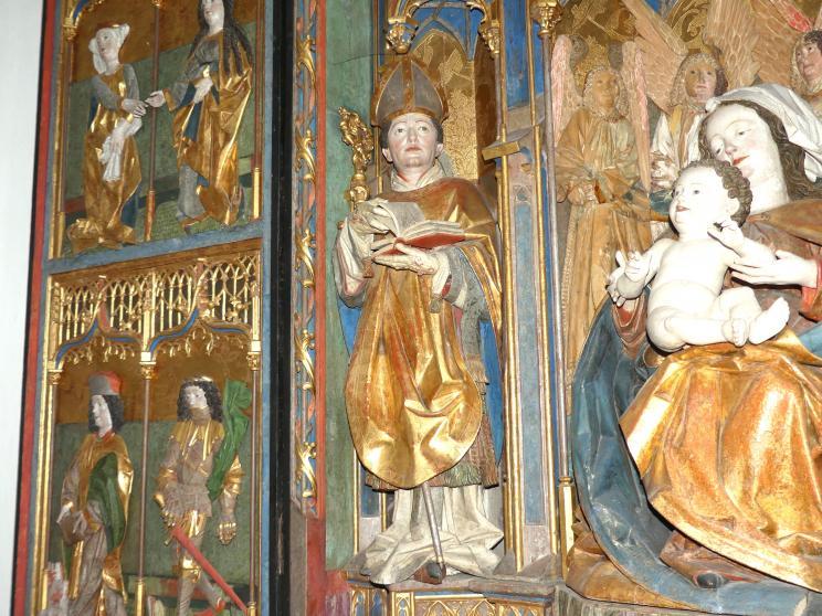 Hans Klocker (Werkstatt): Altarschrein, um 1500, Bild 9/10