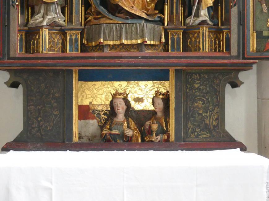 Hans Klocker (Werkstatt): Altarschrein, um 1500, Bild 10/10