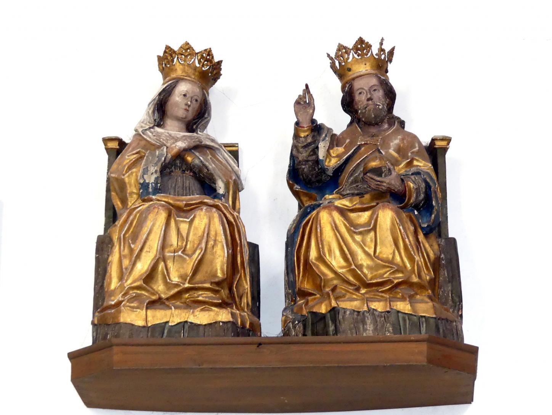 Leonhard von Brixen (Lienhart Scherhauff): Teile einer Marienkrönung, um 1470