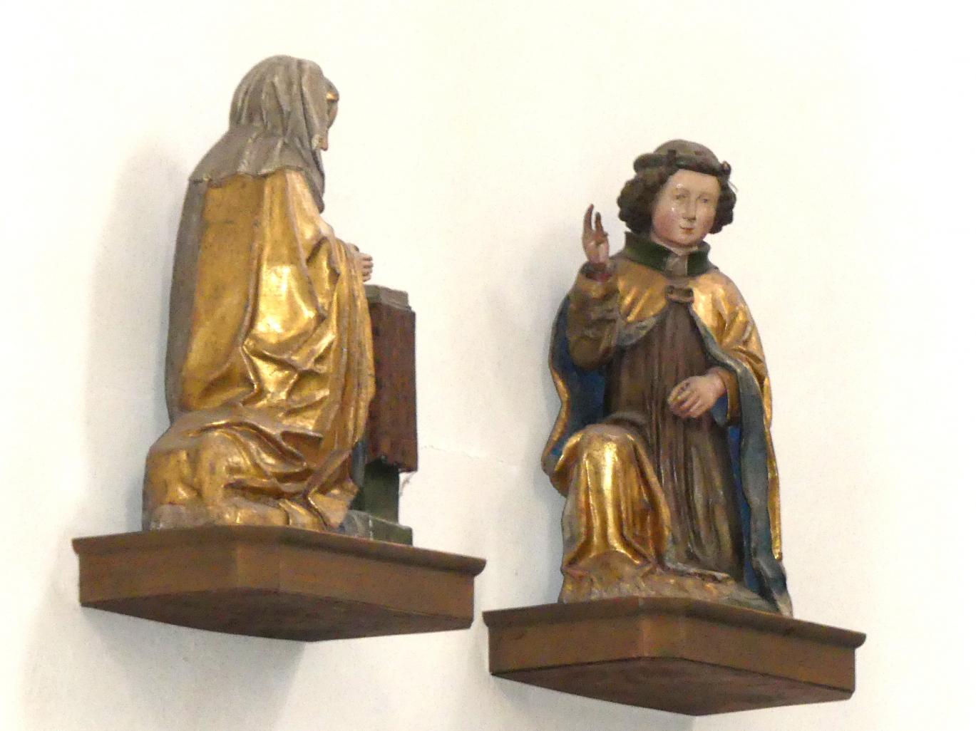 Leonhard von Brixen (Lienhart Scherhauff): Verkündigungsszene, um 1470