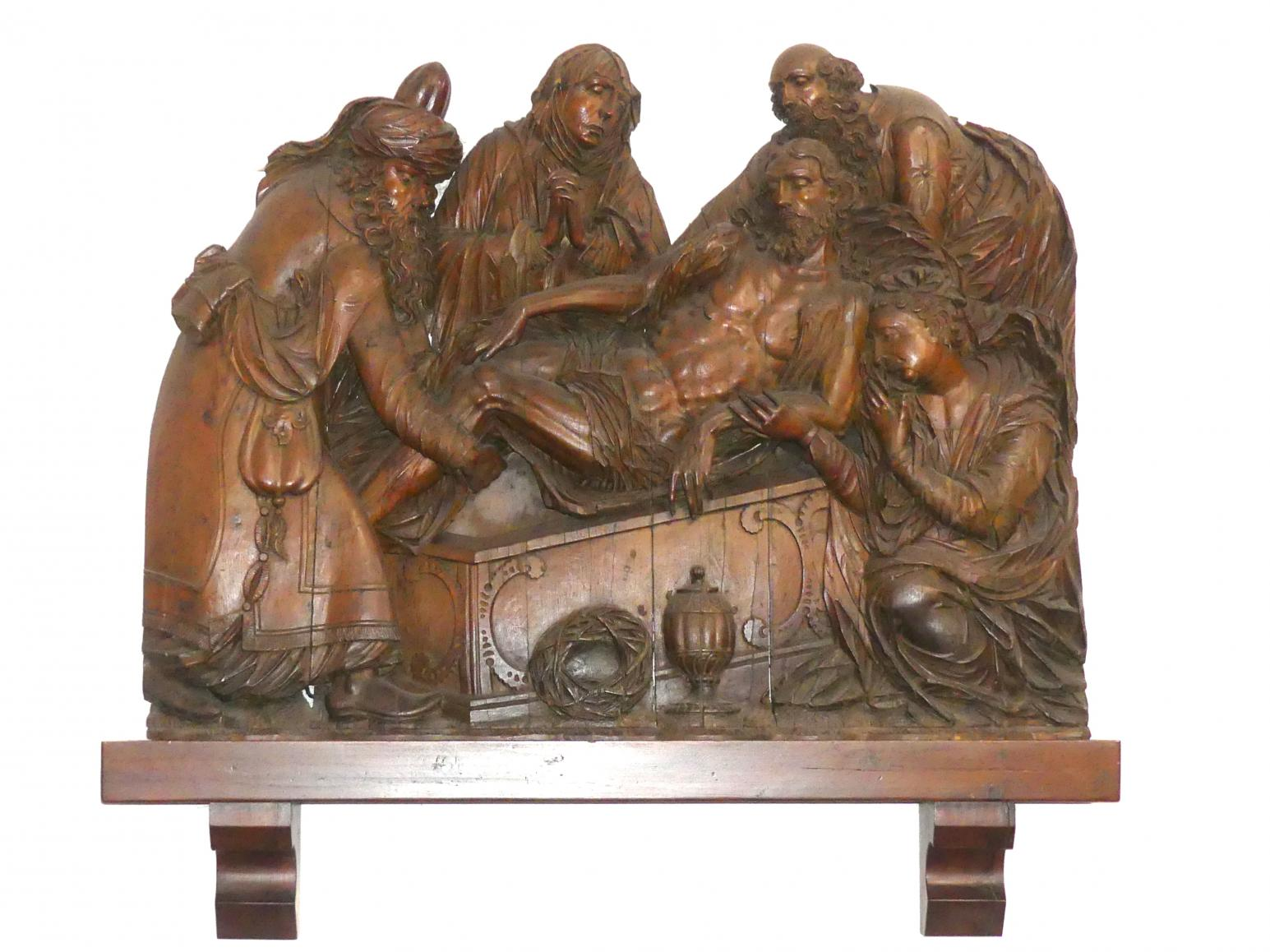 Hans Reichle: Grablegung Christi, Nach 1600