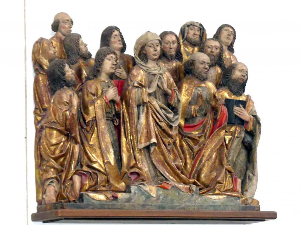 Brixner Schule: Pfingstwunder, um 1500