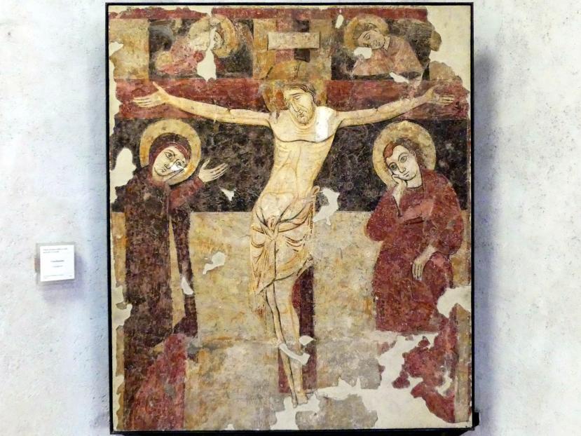 Gekreuzigter Christus - Crocifissione, 2. Hälfte 13. Jhd.
