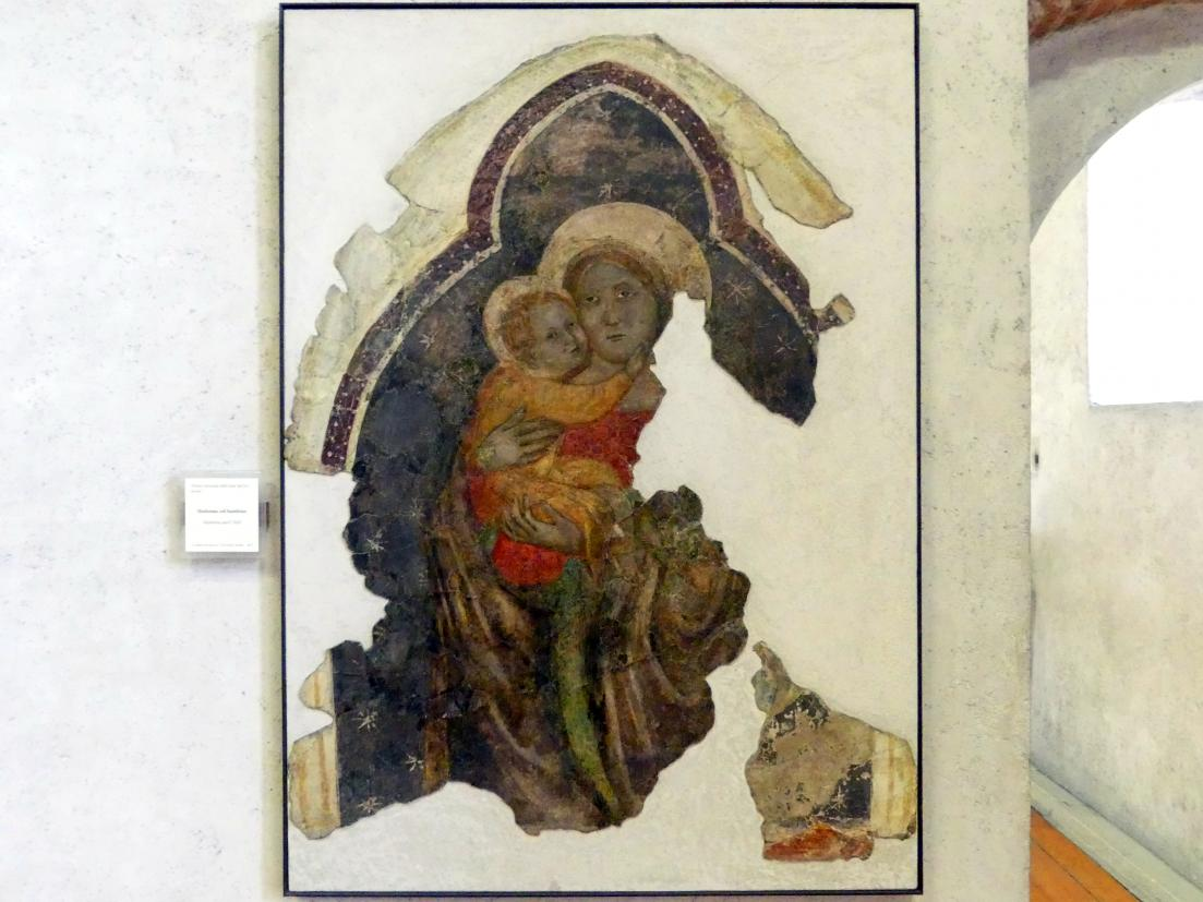 Madonna col bambino - Maria mit Kind, Ende 14. Jhd.